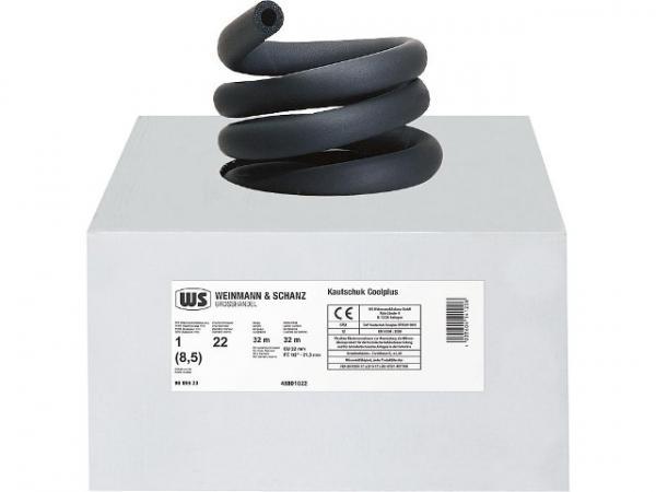 Kautschuk Isolierung K 18 mm, Dämmdick 13 mm, 1 Karton 27 m endlos