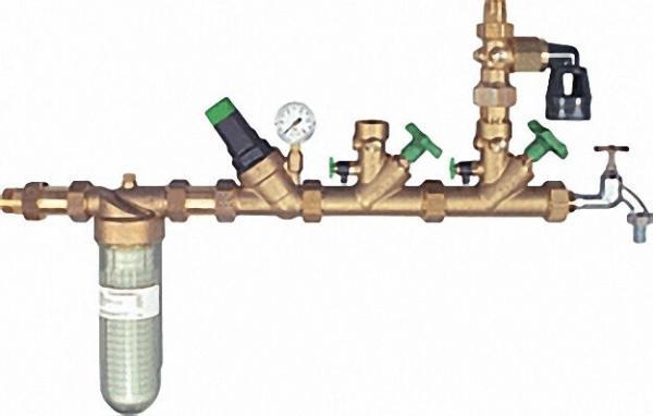 Hauswasserverteilsystem mit Feinfilter Bavaria