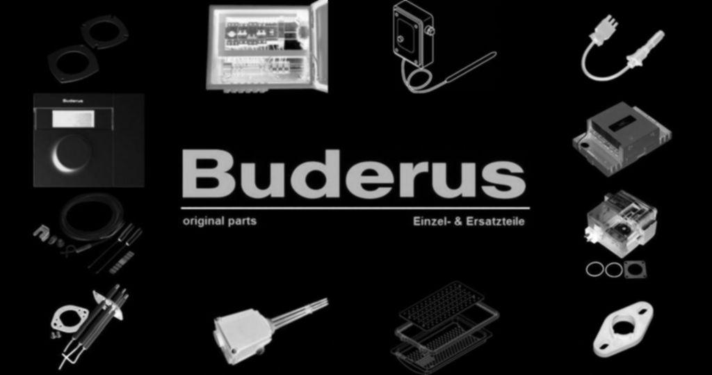 Buderus 7101110 Rohr-Verbindung-Ausdehnungsgefäß