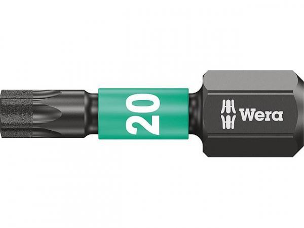 """WERA Bit 1/4"""" Impaktor für Schlagschrauber T 20, 25 mm"""