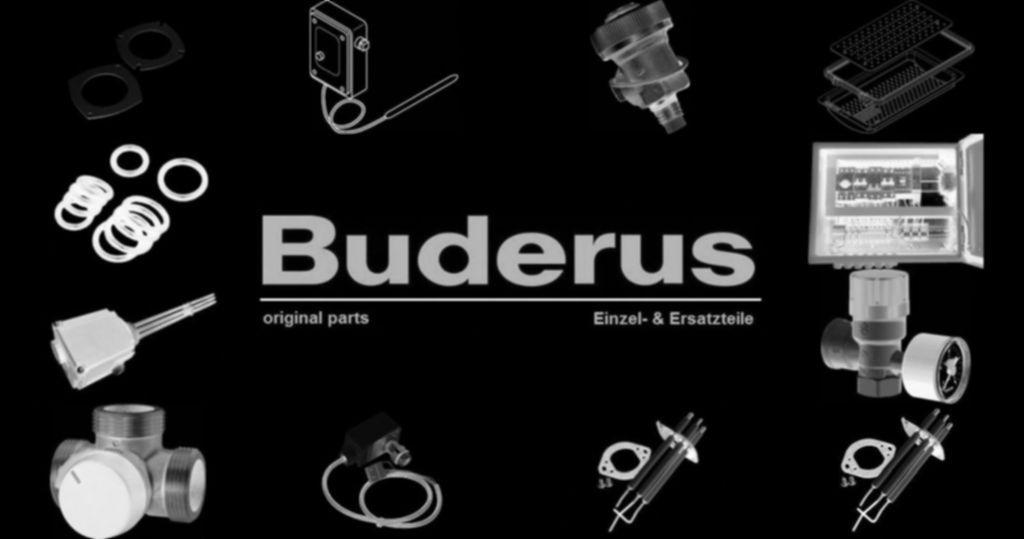 "Buderus 87182257490 Reduziermuffe 3/4""x3/8"