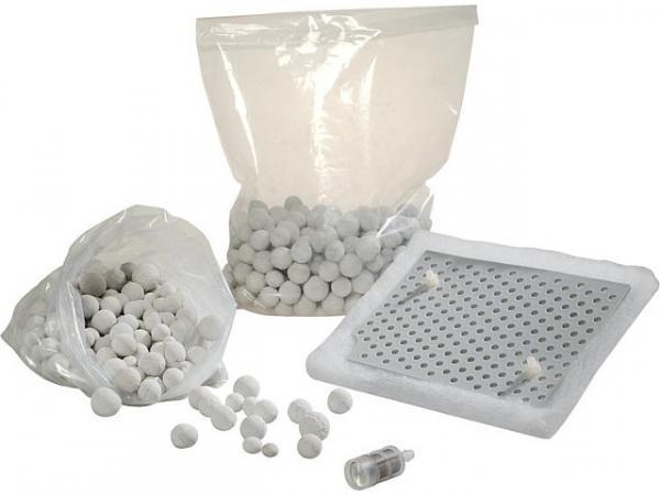 Wartungsset für EKF15-25NB inklusive 2 Kg Granulat, Filtervlies und Korbfilter
