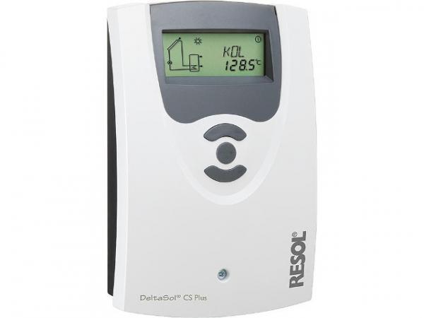 RESOL Differenztemperaturregler DeltaSol CS Plus mit 4 Fühler