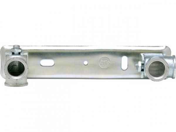 Anschlussplatten für Gaszähler AP komplettverzinkt ohne Träger 1'' / 250mm
