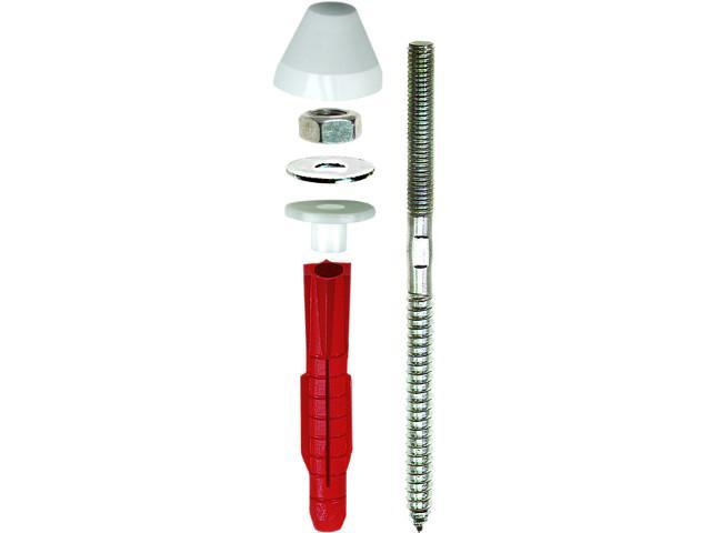4510148 Urinal- & Waschtischbefestigung Piss-Fix XL weiss M10 BTL