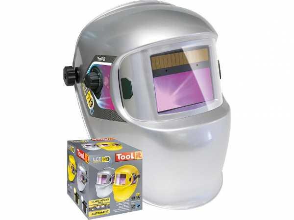Schweißschutzhelm LCD Promax 9/13 G, silber
