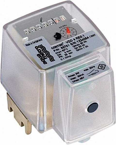 AQUAMETRO Aqua - Metro - Ölzähler Ringkolbenzähler VZO 8 RE 1 mit Innengewindeanschluss mit Impulsge