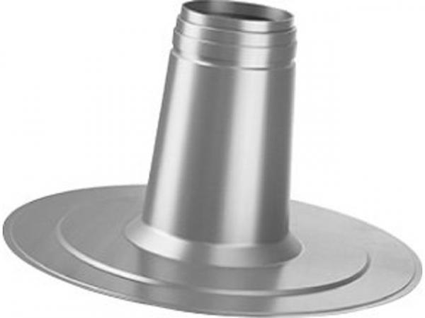 Buderus Flachdach-Klebeflansch, Ø 125 mm, 250 mm hoch, nicht verstellbar, 7738112508