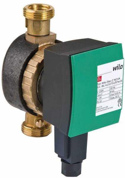 WILO 4132750 Trinkwarmwasser-Zirkulationspumpe -Star-Z NOVA