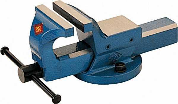 Parallel-Schraubstock Mondial Backenbreite 150mm mit Rohrspannbacken