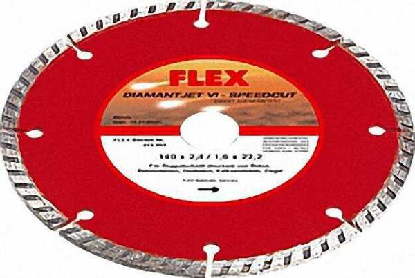 FLEX Diamantjet 'Speedcut' 140mm