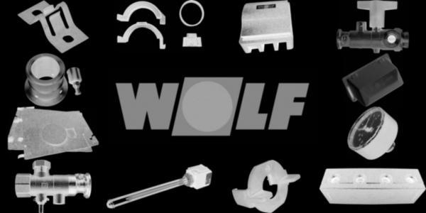 WOLF 8751739 Fronttür, Silber