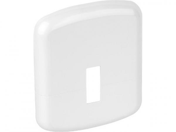 FLAMCO Standkonsolen Zubehör Kunststoffrosette-weiß 130x110mm zur Abdeckung der Standfüße