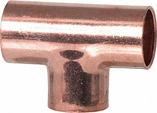 Kupferlötfittings 5130 T-Stück 15mm