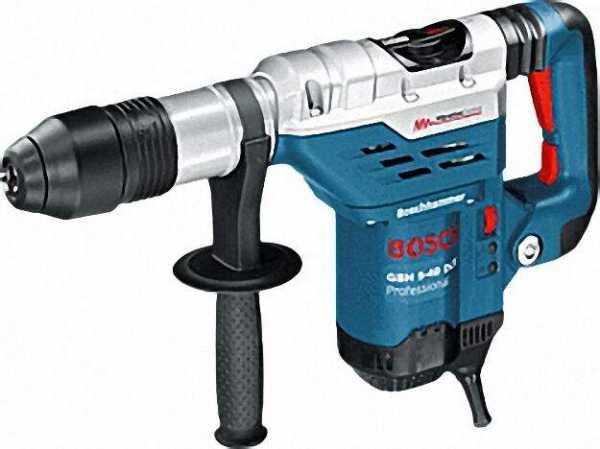 BOSCH Bohrhammer mit SDS-max GBH 5-40 DCE Professional Nennaufnahmeleistung 1.150 W