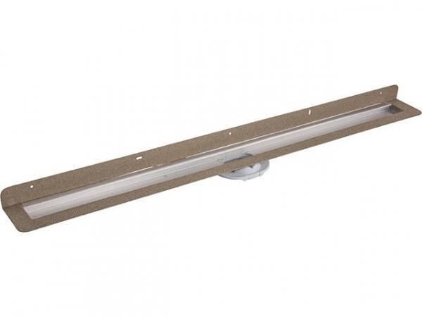 Grundkörper für Advantix Duschrinne Wand, Länge-900 mm, Edelstahl