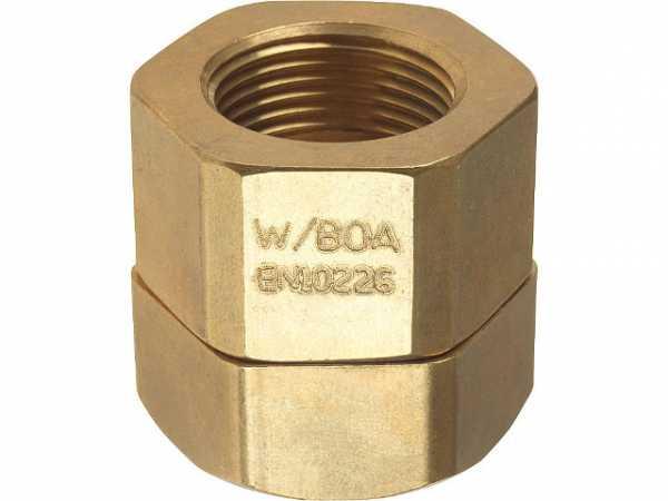 Verschraubung für Wellrohr DN15 (1/2')xDN15 (1/2') IG