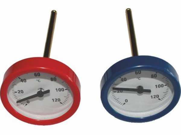 WOLF 2744011 Thermometer für Verrohrungsgruppe