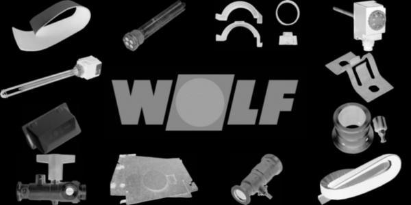 WOLF 1710632 Deckel für Schalldämmhaube, Silber