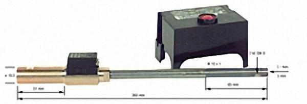 Ölvorwärmer Umbau-Set Abig Nova 2000 Compact mit LOA 24 20020-002 Datumkleber anbringen