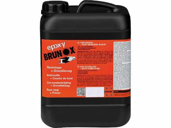 Rostumwandler und Grundierung BRUNOX epoxy 5 Liter Kanister