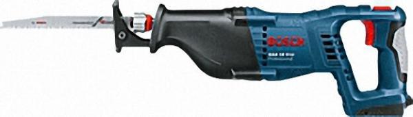 BOSCH Akkusäbelsäge GSA 18V-Li Professional, ohne Akku+Ladegerät, Hublängen=28mm
