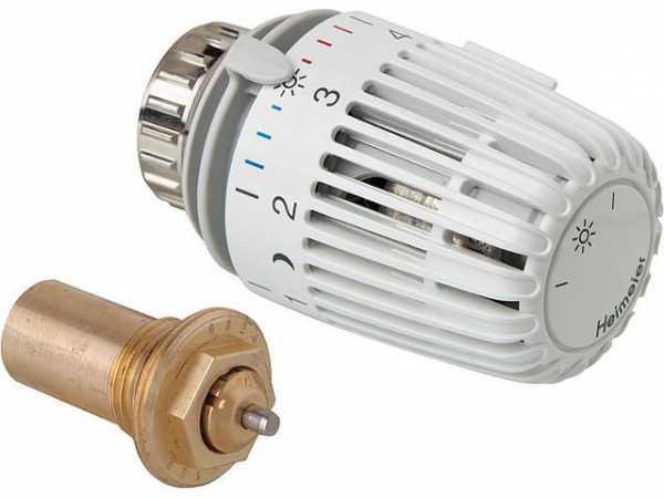 Heimeier Thermostatkopf + Ventileinsatz als Set