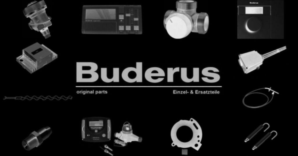 Buderus 54915269 Pumpenkopf Wilo RS 25/70 r für Laddomat