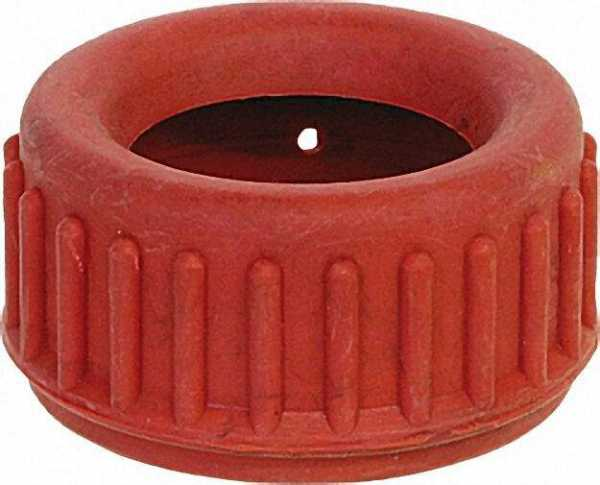 Gummischutzkappen für Manometer mit Dm 63mm Farbe: rot