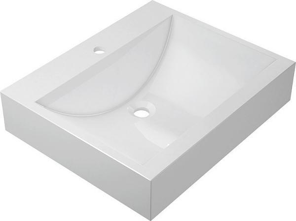 EVENES Design-Aufsatz-WT ERIKA BxHxT:600x150x500mm aus Mineralguss