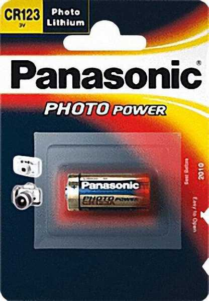 PANASONIC Fotobatterie Lithium CR-2 3V Dm 15, 6 x 27mm