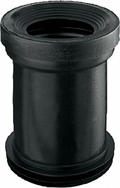 WC-Anschlussstutzen passend für WC-Muffen d120-125mm d = 110/110mm, ge