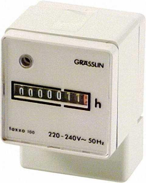 GRÄSSLIN Betriebsstundenzähler Taxxo 100 (UWZ 48 A)