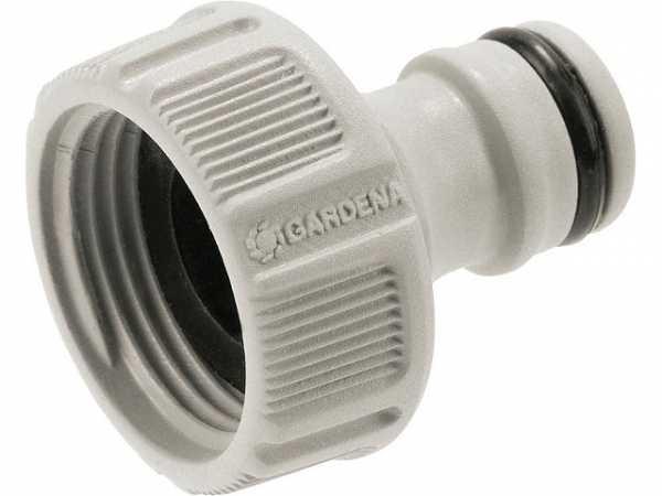 Hahnverbinder 21mm (G1/2)-Wasserhahn mit 26,5mm (G 3/4)-Gewinde