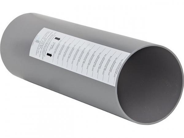 LUNOS 036765 Einbauwandhülse 160, Länge 500 mm
