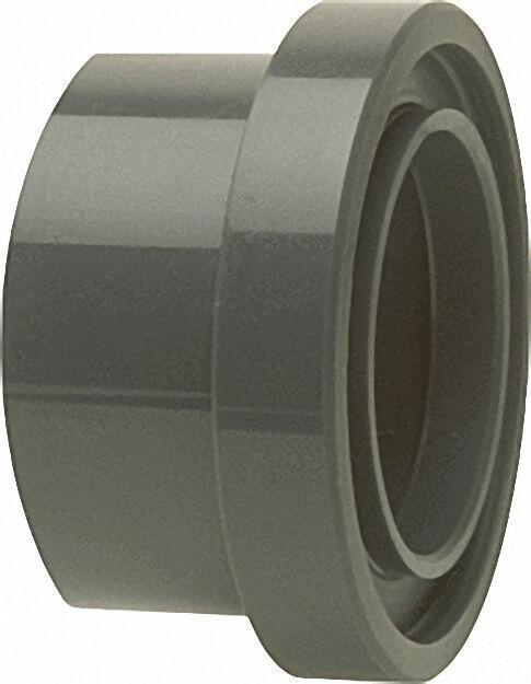 Pvc-u - Klebefitting Bundbuchse mit O-Ring-Kammer, 63mm, für Runddicht