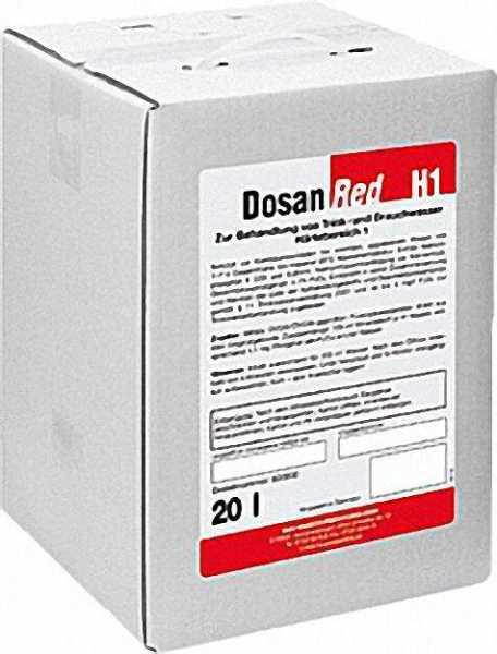 BWG Wasserchemie Dosan H1 20 kg Härtebereich 1=(0-7°dH)
