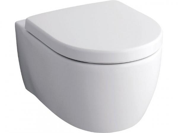 Wandtiefspül-WC Keramag Icon xs weiß, spülrandlos, mit Kera-Tect, BxTxH 355x490x332mm