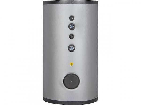 Warmwasserspeicher SFI 300 Edelstahl, mit einem Wärmetauscher, Inhalt 290 Liter