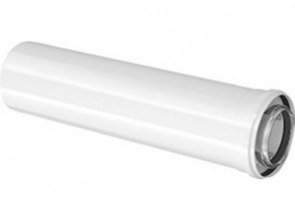 Buderus Konzentrisches Rohr, Ø 80/125 mm, weiß, 950 mm, 7738112646