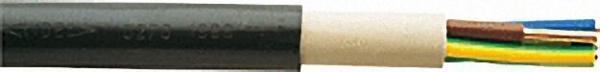 Starkstromkabel 1-30KV, NYY-J, 3 x 1, 5 RE, sw, Rolle a 100m