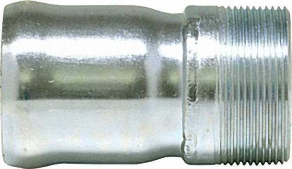 Möck Anschluss-Stück mit Außengewinde und Muffe, DN 50, 2''
