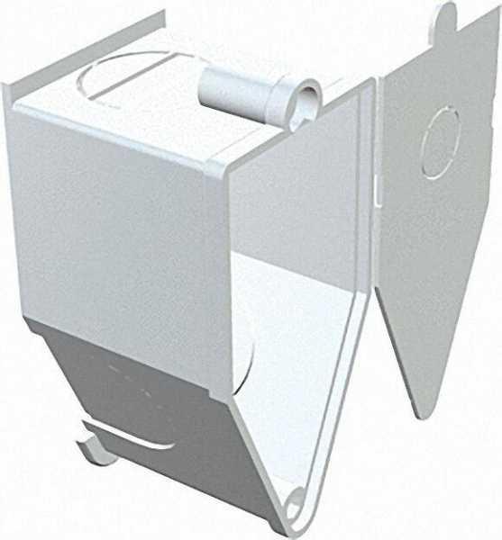 Wandleuchten-Anschlussdose Unterputz Typ UWA, cremeweiß / 1 Stück
