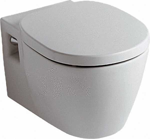 IDEAL STANDARD E8232MA Wandtiefspüllklosett Connect BxTXH= 360x540x340m mit Ideal Plus Beschichtung