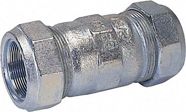 Temperguss-Klemmverbinder (i/i) Gas PN 4, Wasser PN 16, Typ O 2''