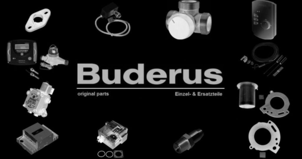 Buderus 5997558 Schalter Wipp 2 fach um Warmwasser