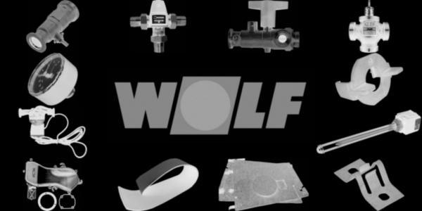 WOLF 1603607 Isolierung Mantel Gussblock