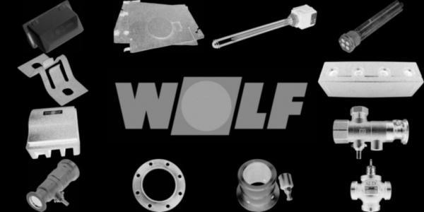 WOLF 2651674 Luft-/Abgasrohr DN60/100 L=2,0mHeizwert
