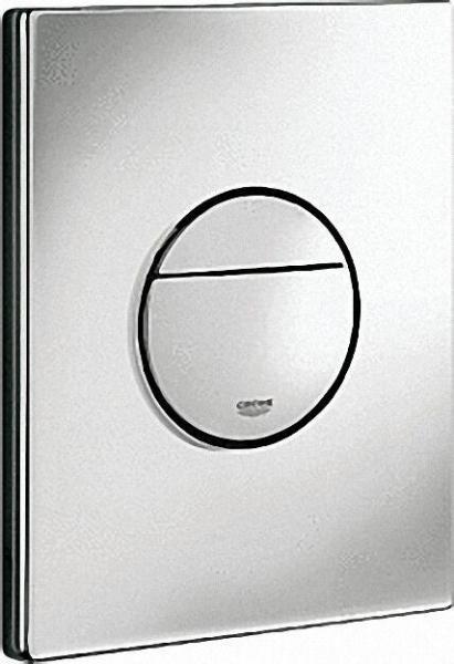 GROHE Abdeckplatte Nova Cosmopolitan für WC-Spülkasten, chrom, senkrechte und waagerechte Montage