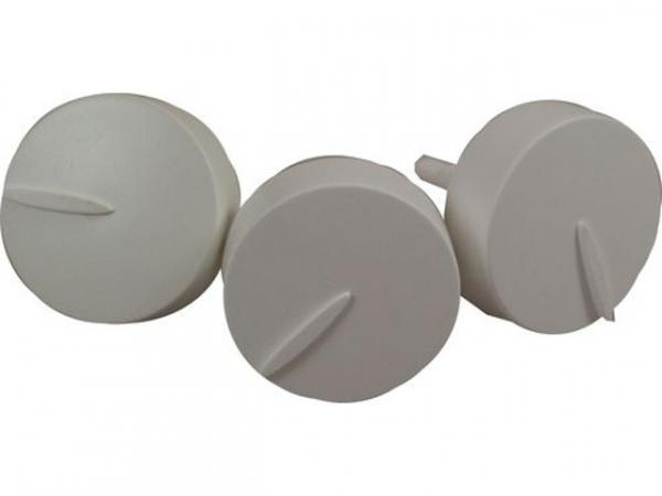 WOLF 171008099 Drehknopfsatz ab BJ 06/01 bestehend aus(Art.-Nr. 1710121 + 1710122)(ersetzt Art.-Nr. 1710080)